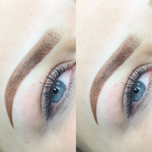 Ombré Brows resultaat door SKINN by NIKKI